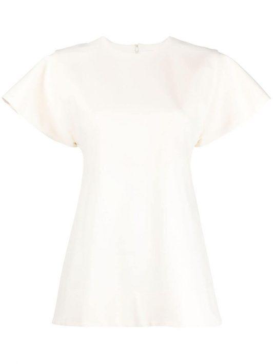 Jil Sander T-Shirt mit rundem Ausschnitt - Nude