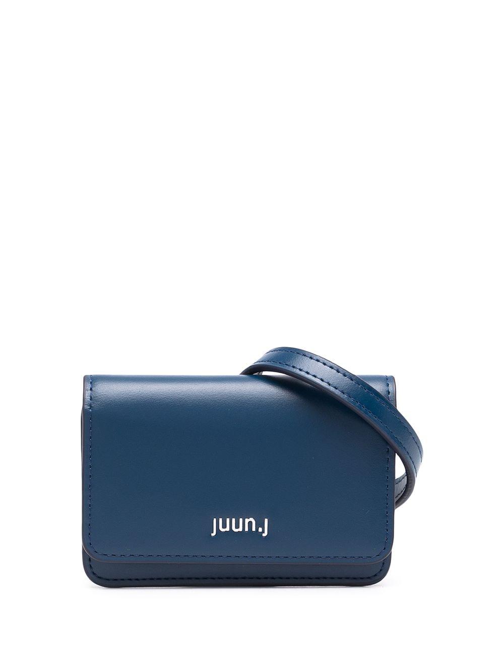 Juun.J Gürteltasche mit Logo - Blau