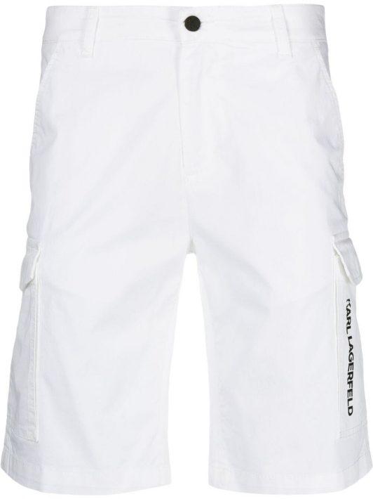 Karl Lagerfeld Halbhohe Bermudas - Weiß