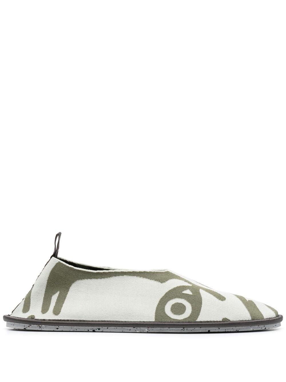 Kenzo K-Tiger K-Knit loafers - Grün