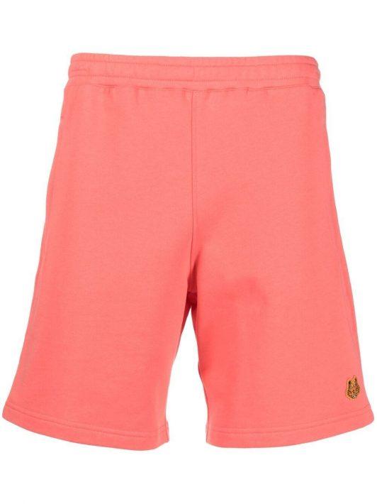 Kenzo Tiger cotton-jersey shorts - Orange