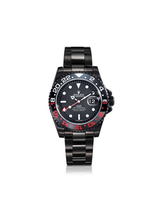 MAD Paris Personalisierte Rolex GMT Master II - Schwarz