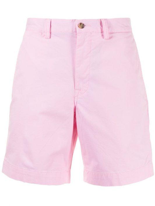 Polo Ralph Lauren Chino-Shorts mit geradem Bein - Rosa