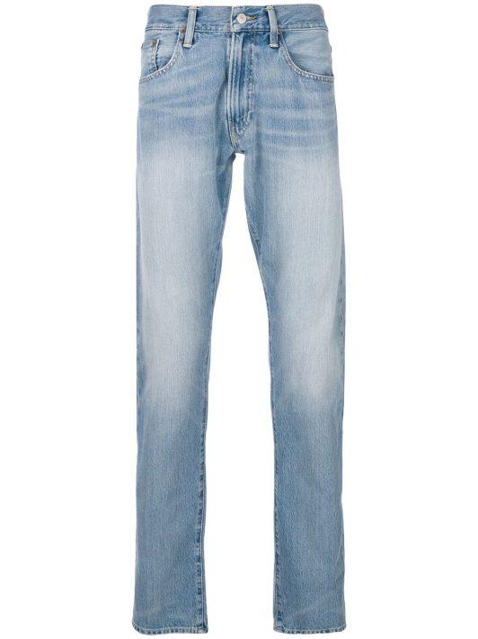 Polo Ralph Lauren Jeans in Washed-Optik - Blau