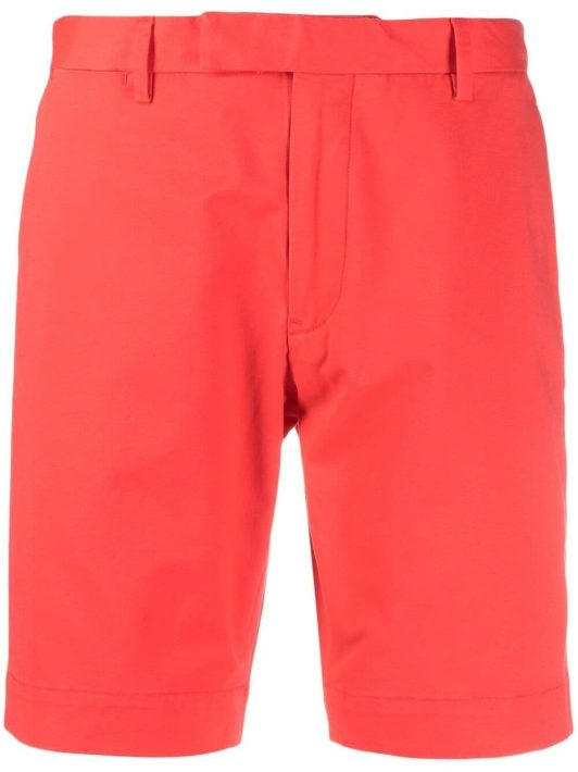 Polo Ralph Lauren concealed-front fastening shorts - Rot