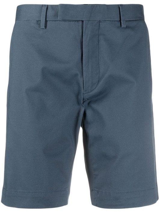 Polo Ralph Lauren off-centre fastening shorts - Blau