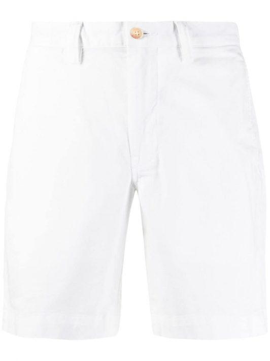 Polo Ralph Lauren straight-leg chino shorts - Weiß