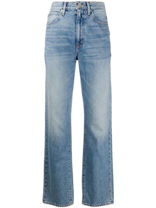 Slvrlake Jeans mit geradem Bein - Blau