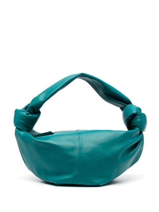 Bottega Veneta Handtasche mit Knoten - Grün