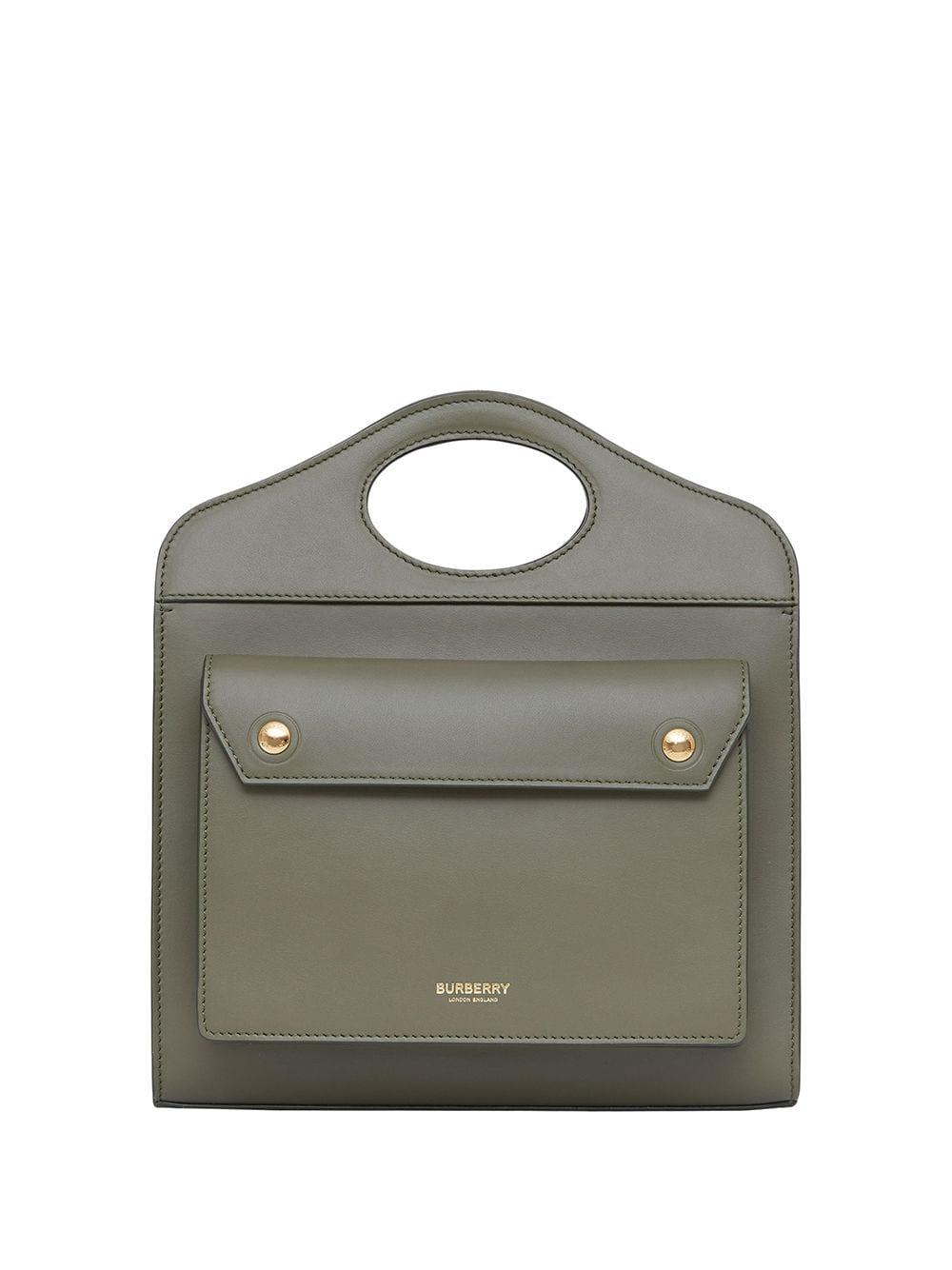 Burberry Mini Pocket Handtasche - Grün