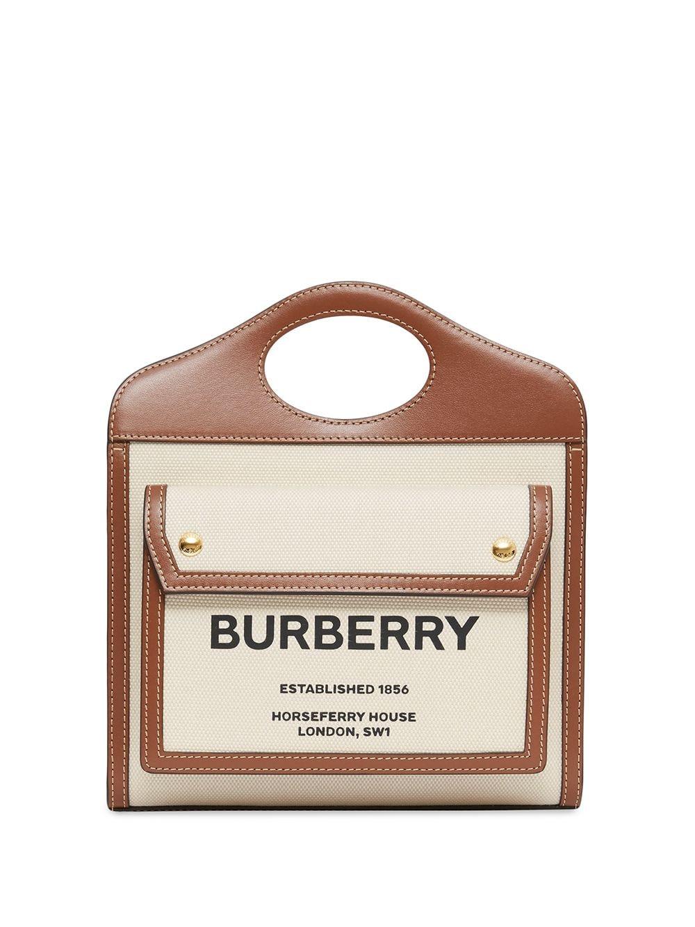 Burberry Mini Pocket Handtasche - Nude