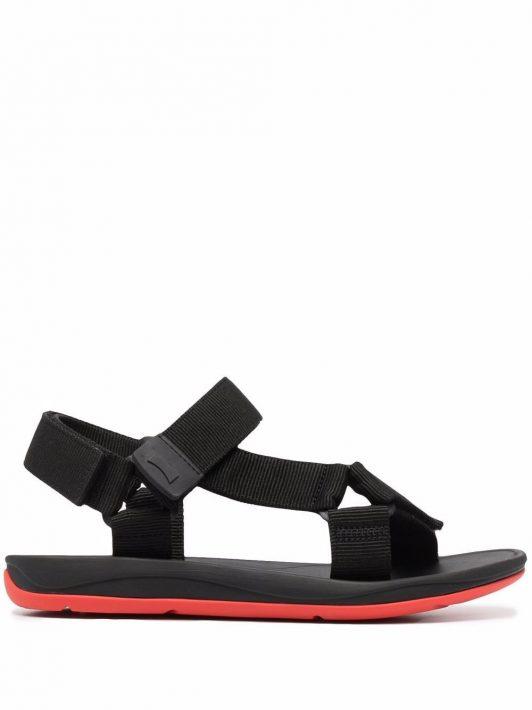 Camper x SailGP Match touch-strap sandals - Schwarz