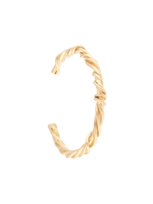 Completedworks Armspange mit verdrehtem Design - Gold