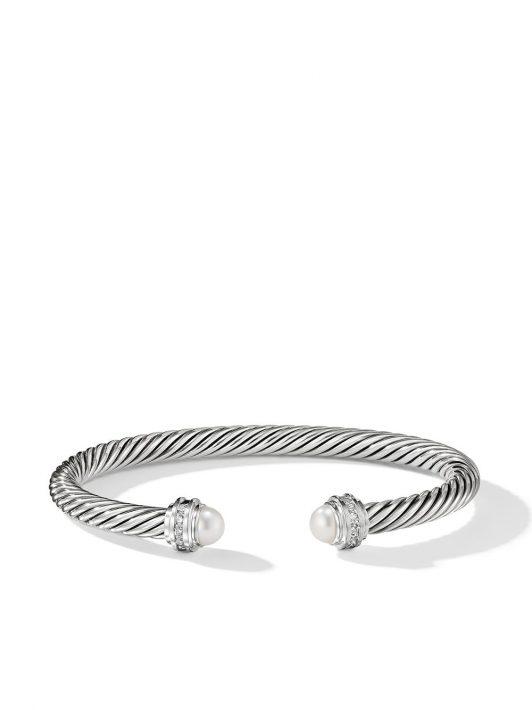 David Yurman Cable Princess Armspange 5mm - Silber