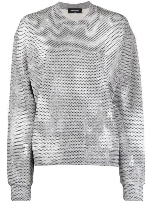 Dsquared2 Falling Diamonds Sweatshirt - Grau