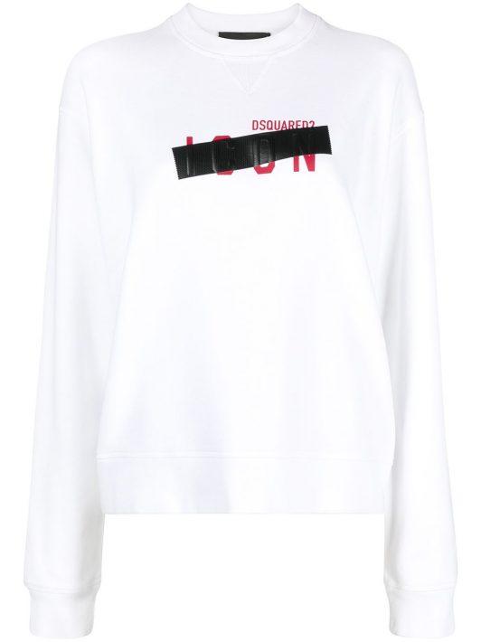 Dsquared2 Icon Sweatshirt - Weiß