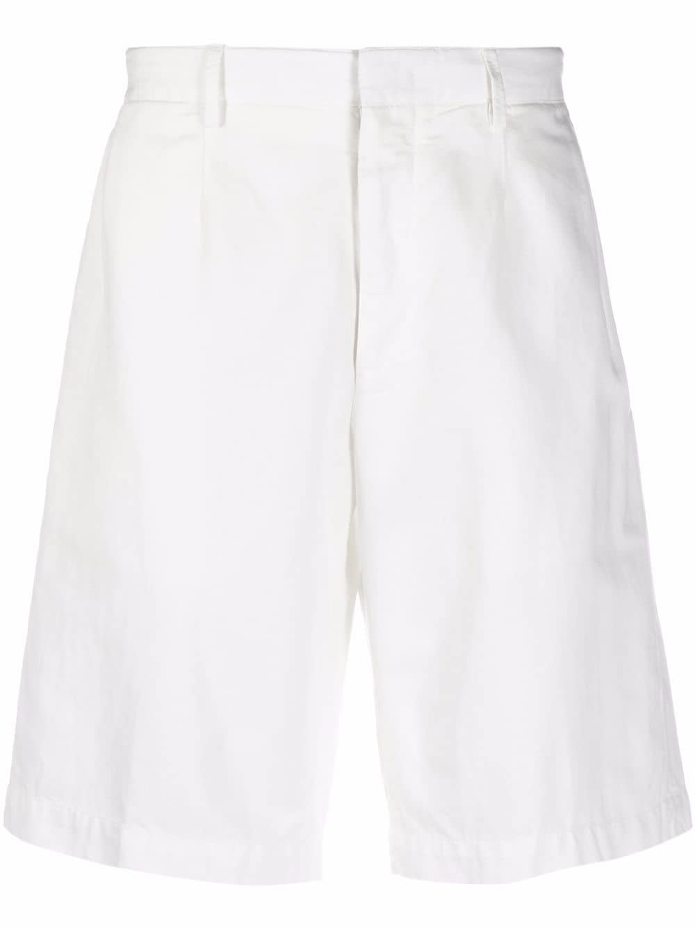 Ermenegildo Zegna slim-cut chino shorts - Weiß
