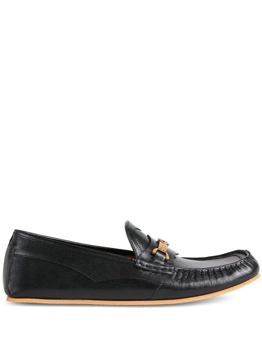 Gucci Horsebit-detail loafers - Schwarz