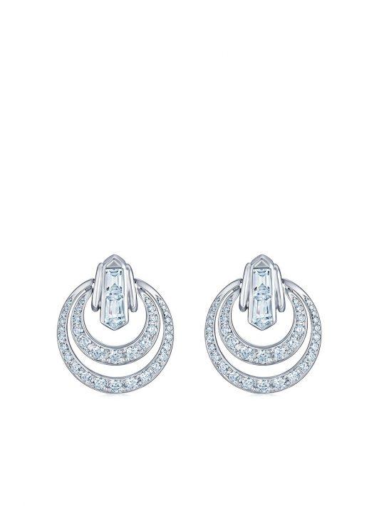 KWIAT 18kt Cascade Weißgoldohrringe mit Diamanten - Silber