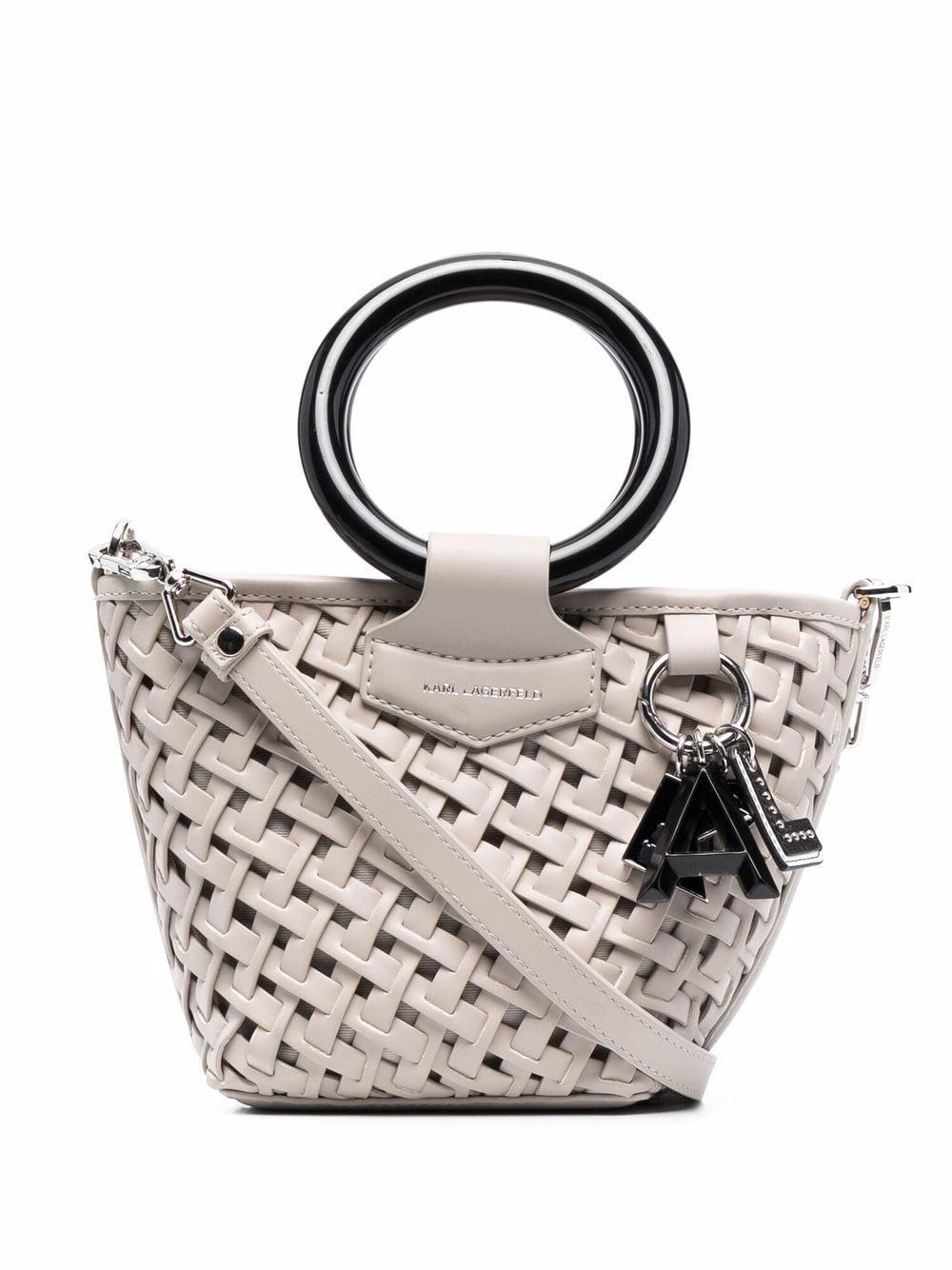 Karl Lagerfeld Kleine K/Basket Handtasche - Nude
