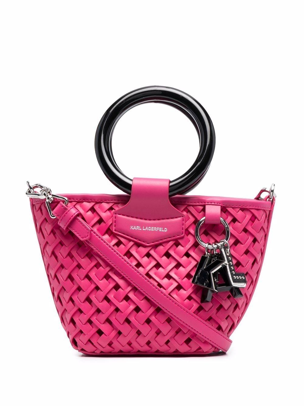 Karl Lagerfeld Kleine K/Basket Handtasche - Rosa