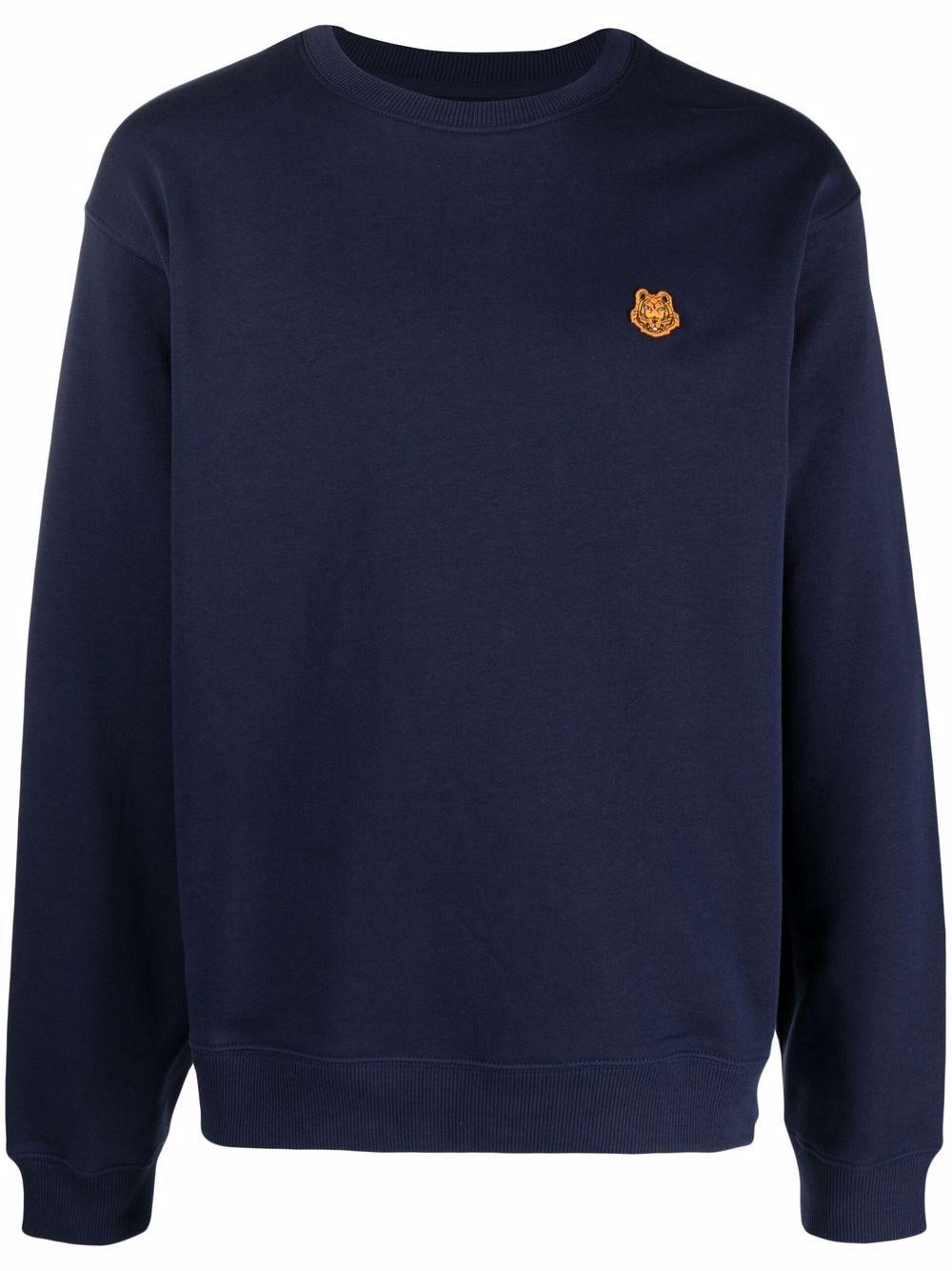 Kenzo Tiger Crest Sweatshirt - Blau