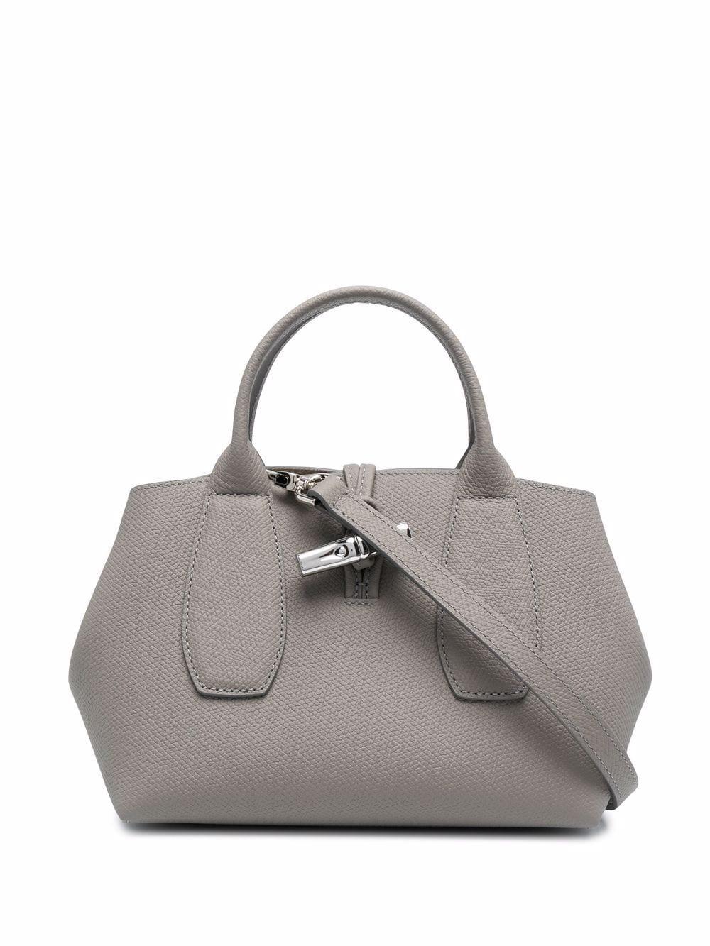 Longchamp Roseau Handtasche - Grau