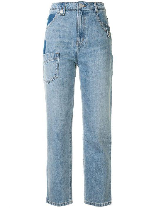 PortsPURE Jeans mit geradem Bein - Blau