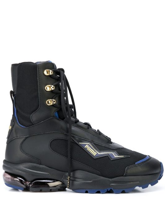 Puma Cell Stellar x Balmain High-Top-Sneakers - Schwarz