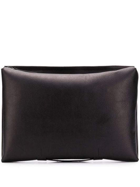 Troubadour Laptoptasche mit Reißverschluss - Schwarz