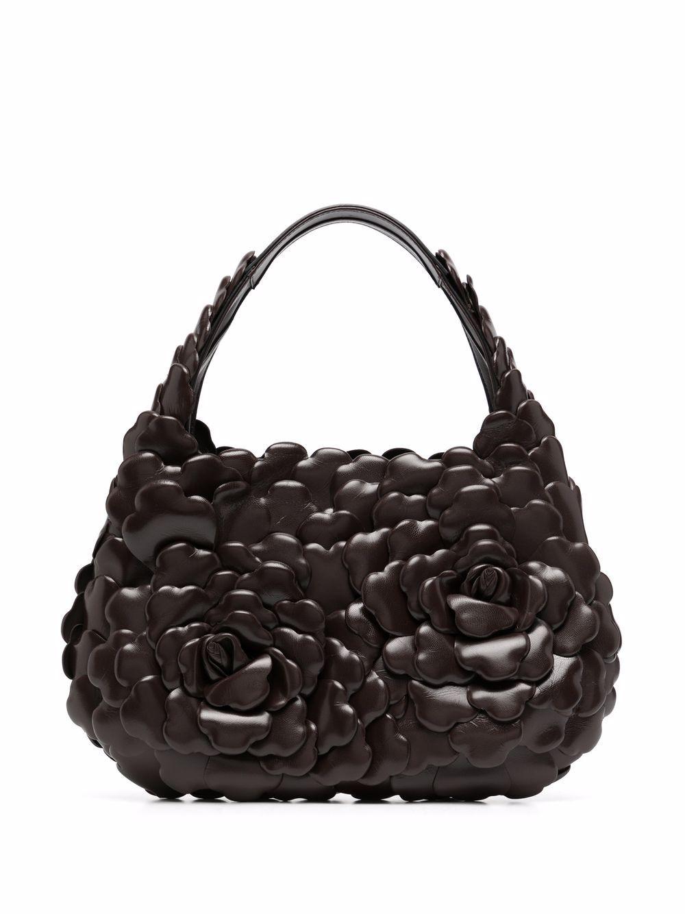 Valentino Garavani Handtasche mit Applikationen - Braun
