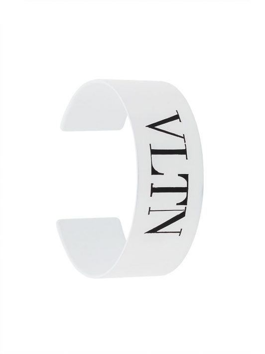 Valentino Garavani 'VLTN' Armspange - Weiß