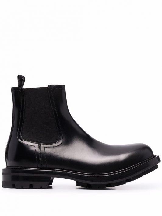 Alexander McQueen Watson Chelsea ankle boots - Schwarz