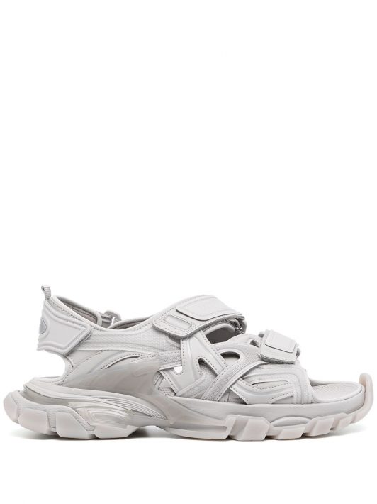 Balenciaga Track touch-strap sandals - Grau