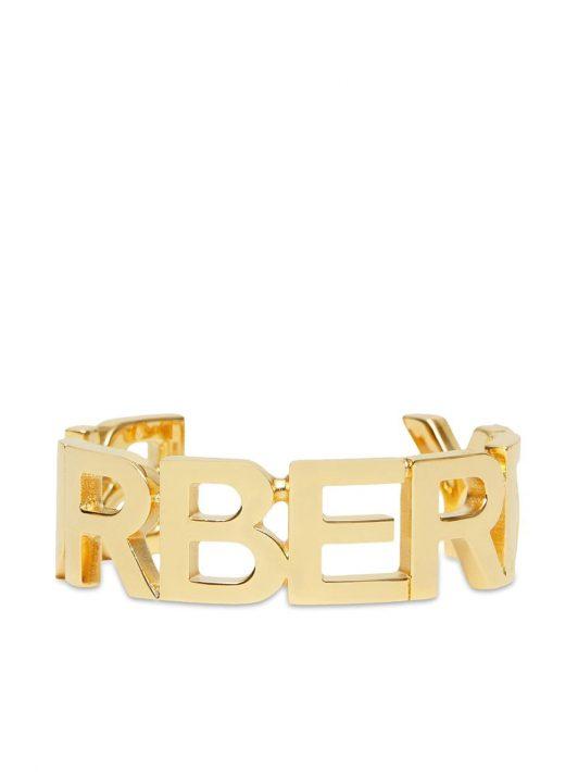 Burberry Armspange mit Logo - Gold