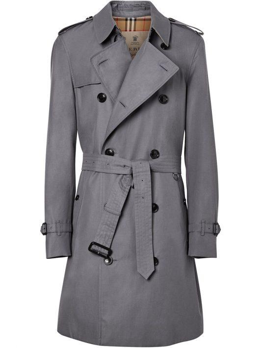 Burberry Chelsea Heritage Trenchcoat - Grau