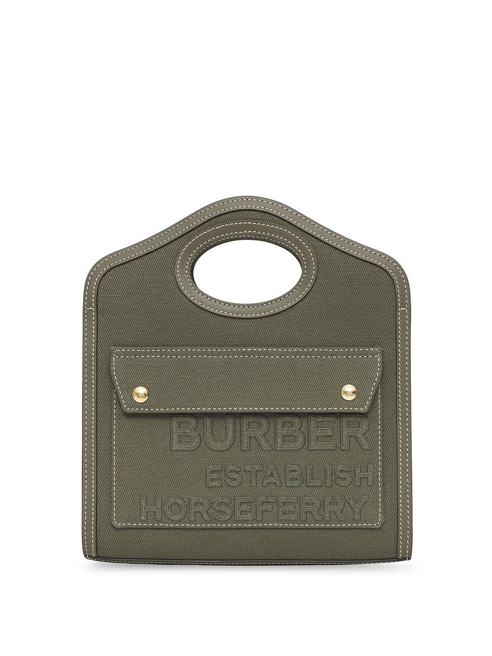 Burberry Mini Handtasche - Grün