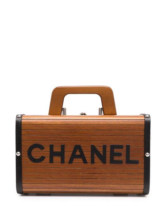 Chanel Pre-Owned 1995 Kosmetiktasche - Braun