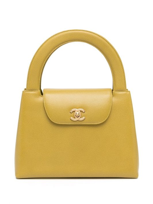 Chanel Pre-Owned 1998 Handtasche - Gelb