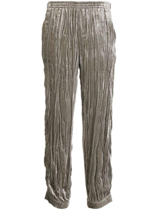 Emporio Armani Tapered-Hose mit Bundfalten - Grau