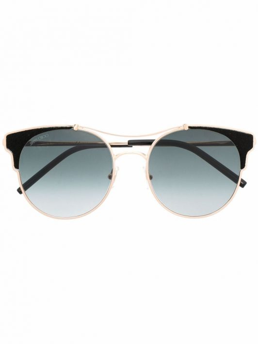 Jimmy Choo Eyewear Lues Sonnenbrille - Gold