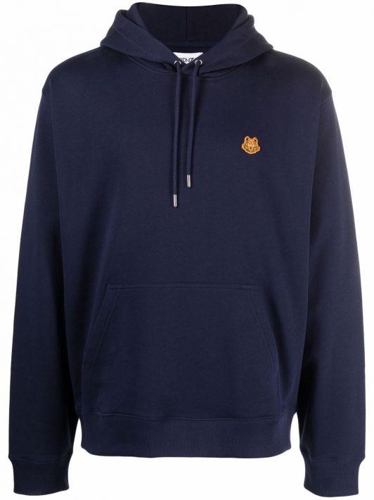 Kenzo Tiger Crest hoodie - Blau
