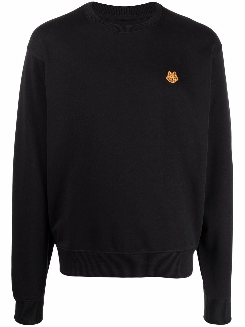 Kenzo Tiger crest crew-neck sweatshirt - Schwarz
