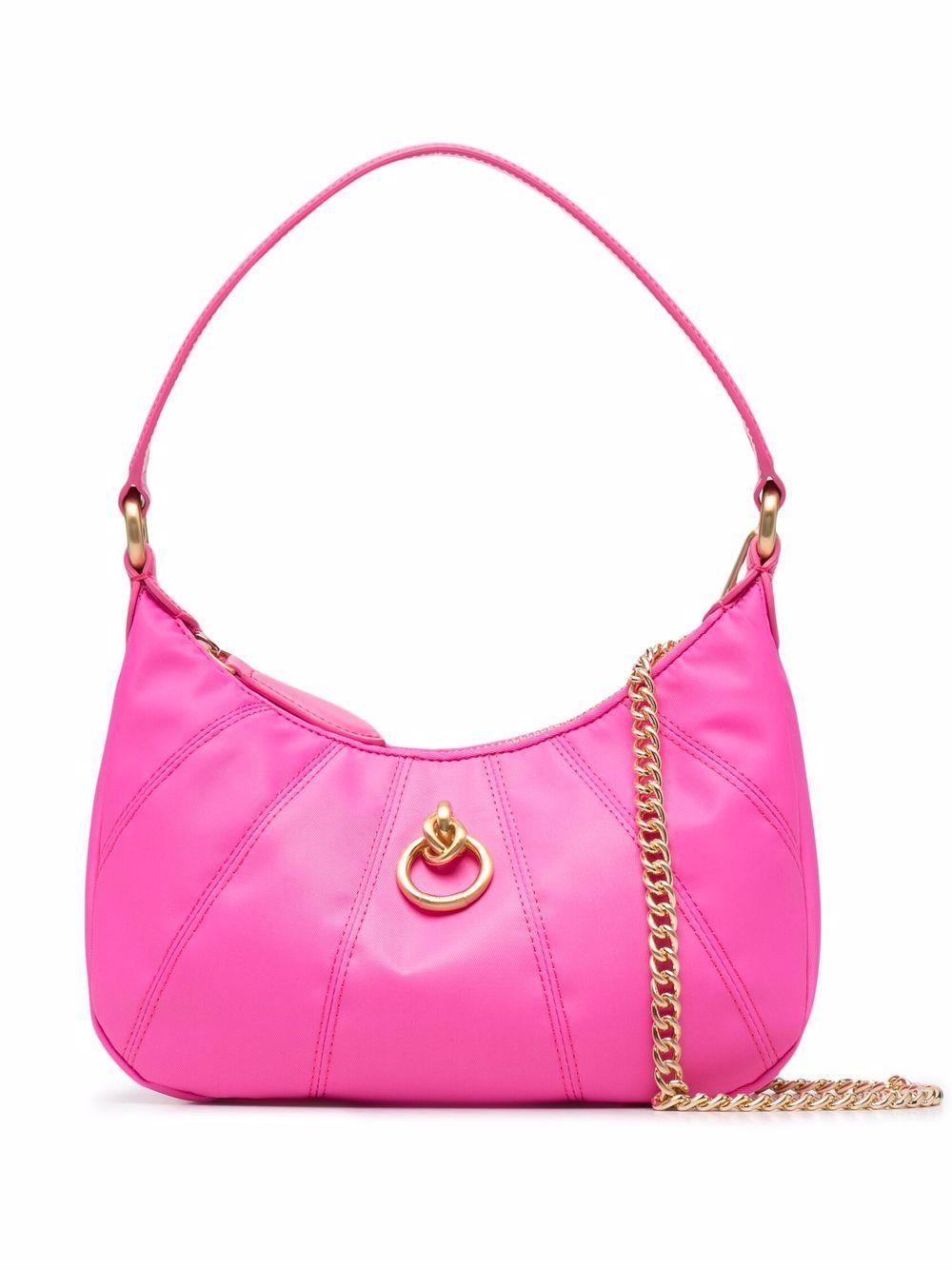 Pinko Handtasche mit Ringdetail - Rosa
