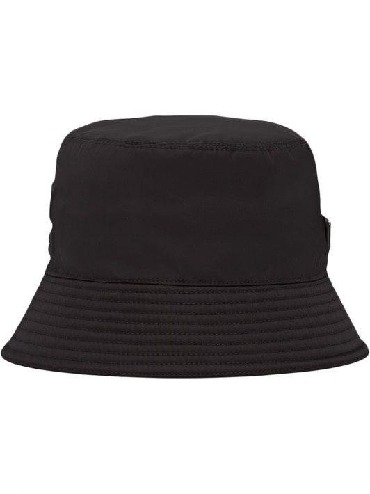 Prada Fischerhut aus Re-Nylon - Schwarz
