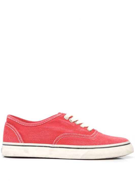 RE/DONE 70s low-top sneakers - Rot