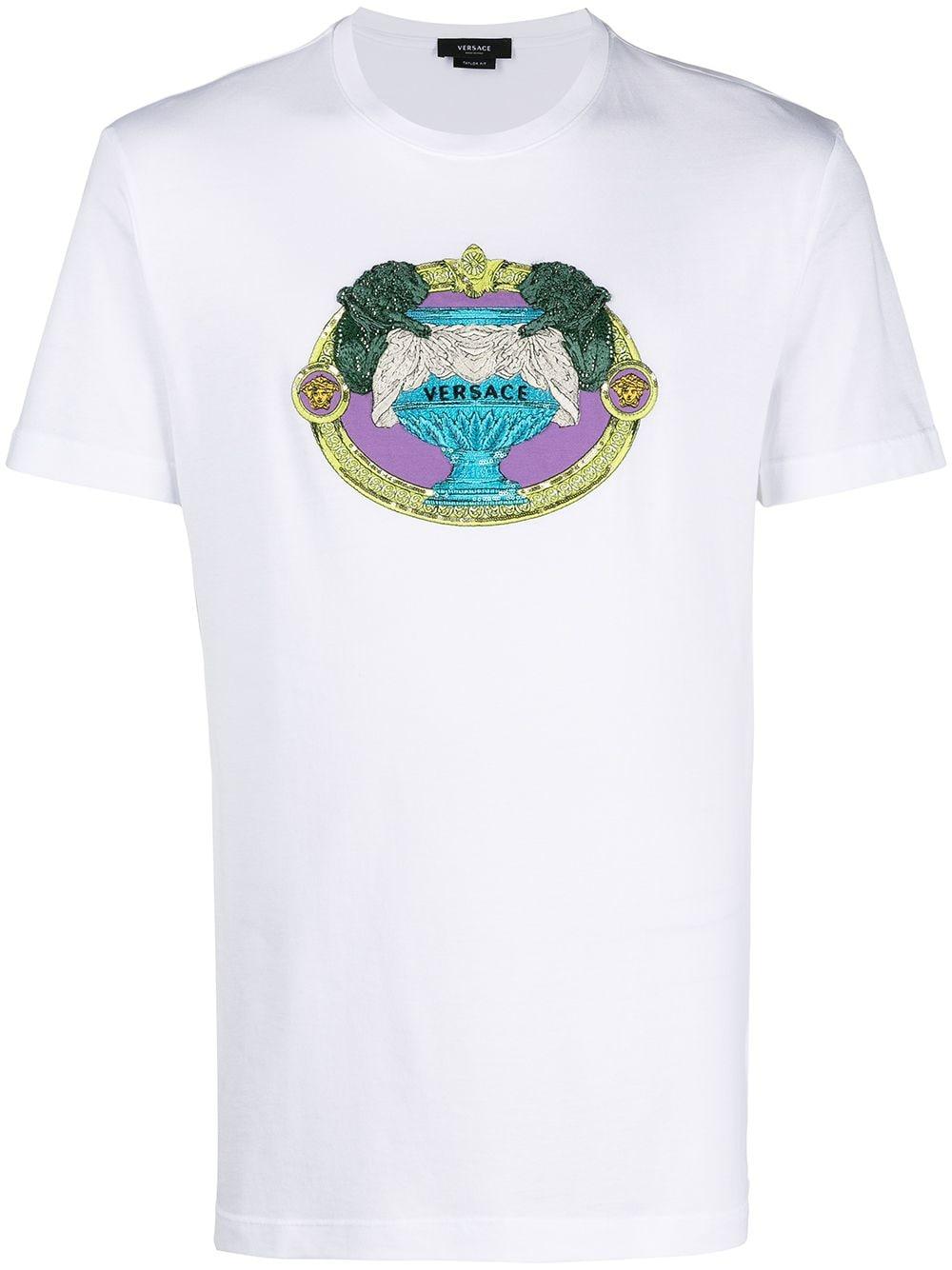 Versace 'La Coupe des Dieux' T-Shirt - Weiß