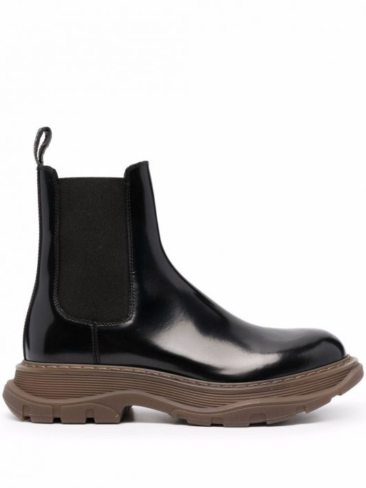 Alexander McQueen Tread Slick ankle boots - Schwarz