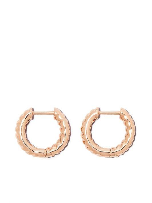 Anita Ko 18kt rose gold Zoe earrings - Rosa