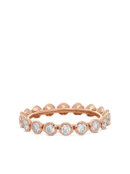 Annoushka 18kt Rotgoldring mit Diamanten - Rosa